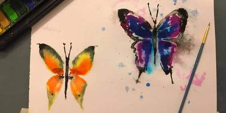 Butterfly Painting Workshop tickets