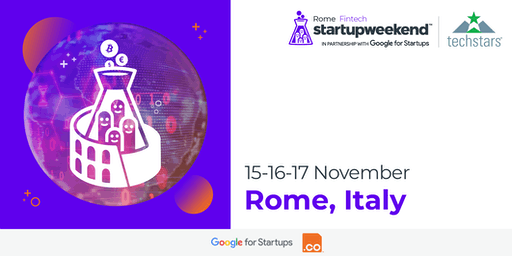 Techstars Startup Weekend Rome Fintech Edition | Nov 2019