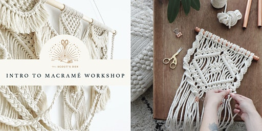Intro to  Macramé: Wall Hanging Workshop