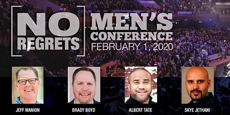 NO REGRETS Men's Conference Feb 1, 2020 Live Streaming Event tickets