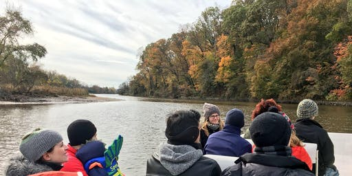 Boat Tour of the Anacostia River (Free), 11:00am ride