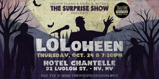 The Surprise Show: LOLoween