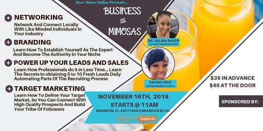 Business and Mimosas Tampa