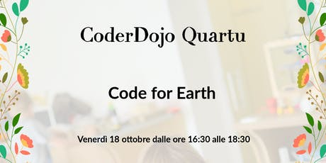 CoderDojo Quartu: Code for Earth biglietti