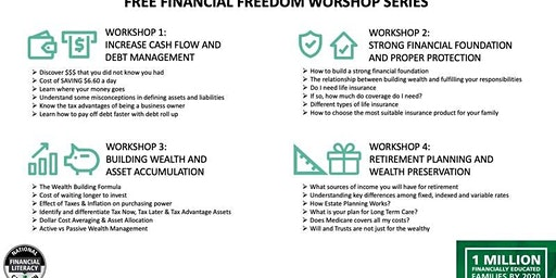 Financial Freedom Workshops (4 FREE Workshops)