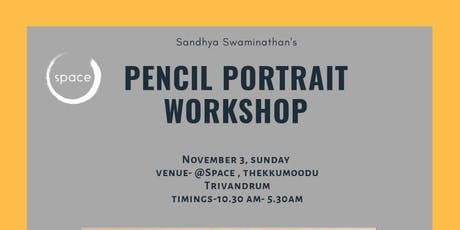 Pencil Portrait with Sandhya Swaminathan tickets
