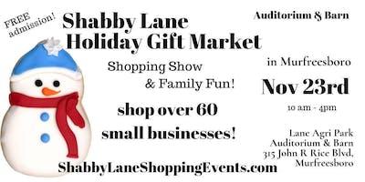 Shabby Lane's Holiday Gift Market in Murfreesboro