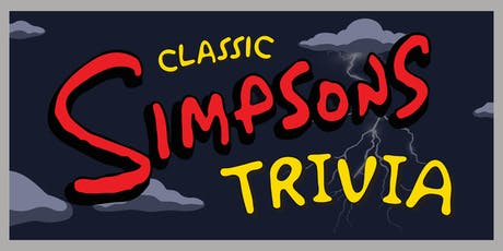 Classic Simpsons Trivia tickets