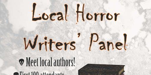 Halloween Horror Author Panel