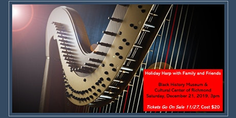 Holiday Harp with Family and Friends tickets