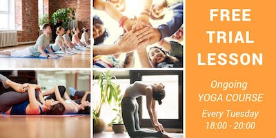 Free Trial Lesson Yoga Course in English