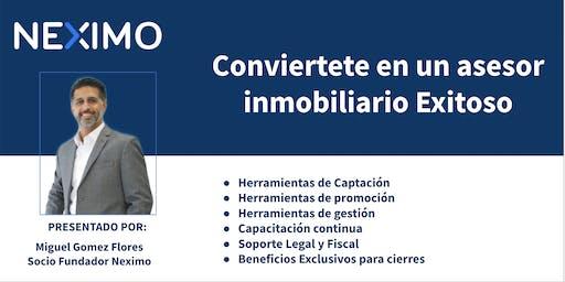 Presentación Neximo la primera inmobiliaria digital en Veracruz