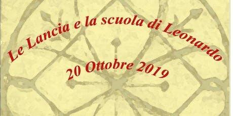 Le Lancia e la Scuola di Leonardo biglietti
