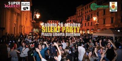 ☊ Silent Party® - Sabato 26 Ottobre Piazza P.zza Libertà Bassano