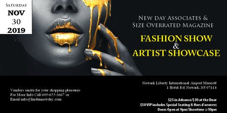 NEW DAY FASHION WEEKEND  & ANNIVERSARY SIZEOVERRATED MAG. tickets