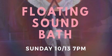 Floating Sound Bath tickets