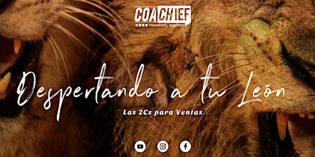Coaching para Ventas: Despertando a tu León boletos