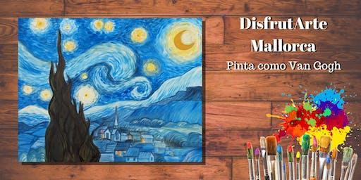 PINTA COMO VAN GOGH - Noche Estrellada