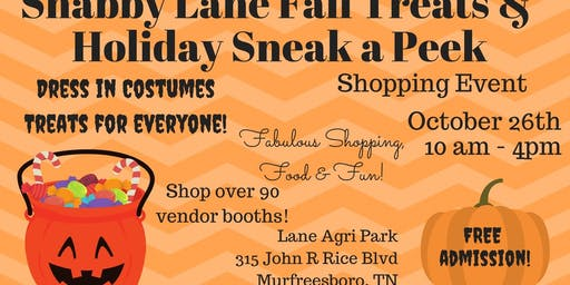 Shabby Lane's Fall Treats & Holiday Sneak a Peek
