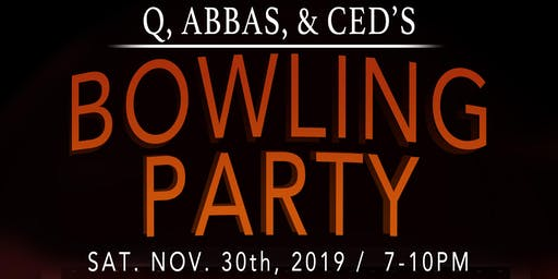 Thanksgiving Weekend Bowling Party
