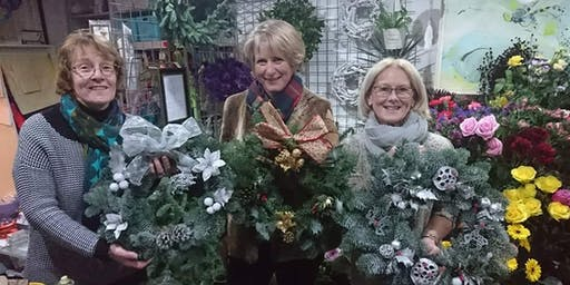 (SOLD OUT) Festive Wreath Workshop - Wreath Making 8/12/19 1pm