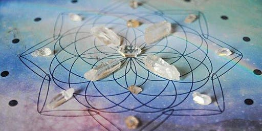 Crystal Grids and the 9 Palaces
