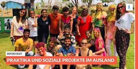 Ab ins Ausland: Infoevent zu Projekten und Praktika im Ausland | Göttingen Tickets