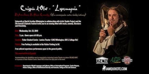 "Crispín d'Olot - "" Lopemaquia ""  UNC Wilmington - Lumina Theater"