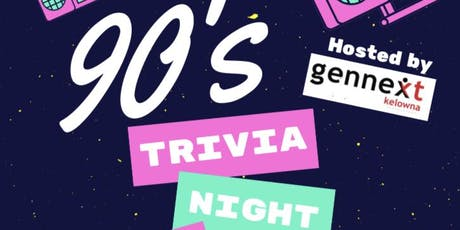 90's Trivia Night tickets