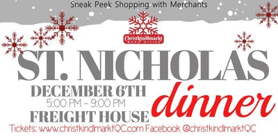 Christkindlmarkt St. Nicholas Dinner and Sneak Peek Party