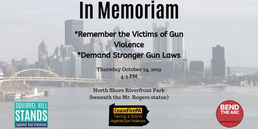 In Memoriam: Remember the Victims of Gun Violence, Demand Stronger Gun Laws