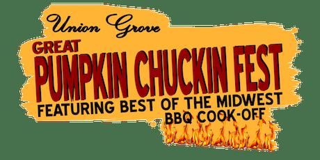 2019 Great Pumpkin Chuckin Fest tickets