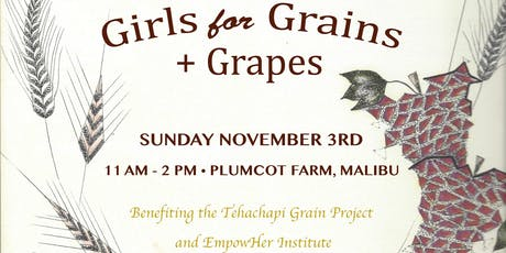 Girls For Grains and Grapes tickets