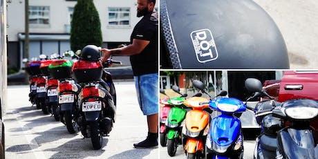 Moped Ride Along Tour Rental tickets