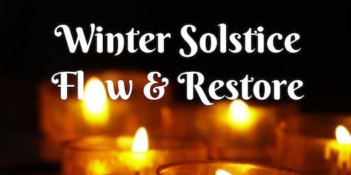 Winter Solstice Flow & Restore Yoga