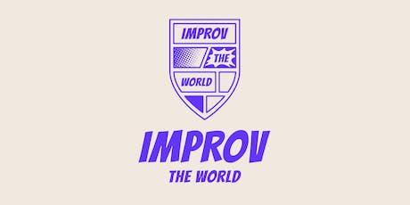 Boekpresentatie Spelenderwijs en lancering Improv the World tickets