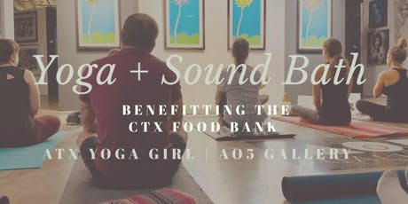 YOGA + Sound Bath tickets