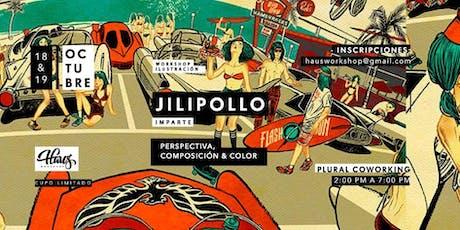 Taller: Perspectiva, composición y color por Jilipollo. entradas