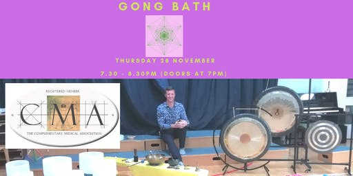 Sound Healing Gong and Crystal Bath