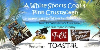 A White Sports Coat & a Pink Crustacean