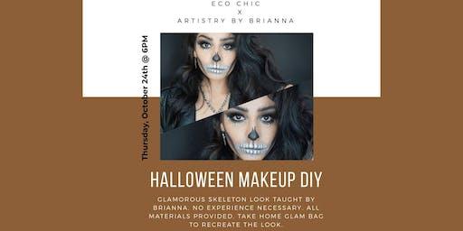 Halloween: Glamorous Skeleton Makeup Class