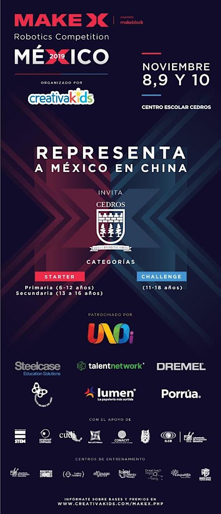 Imagen de MakeX México 2019 - CreativaFEST
