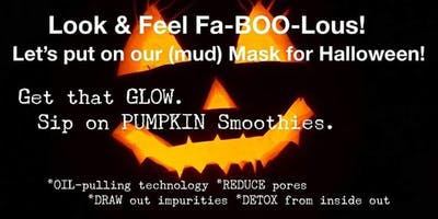 Let's Put Our Masks On (For Halloween )