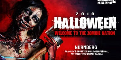 Halloween 2019 - Welcome to the Zombie Nation - Nürnberg