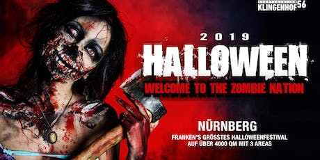 Halloween 2019 - Welcome to the Zombie Nation - Nürnberg Tickets