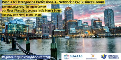 Bosnia & Herzegovina Professionals Networking and Business Forum