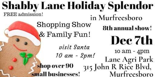 Shabby Lane's Holiday Splendor in Murfreesboro