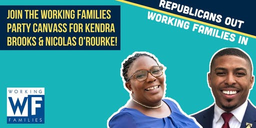 River Wards Canvass for Kendra Brooks & Nicolas O'Rourke