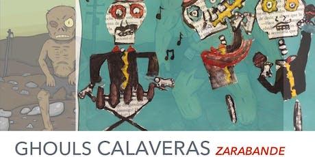 Halloween Party Gouls & Calaveras feat. Latin fusion band Zarabande tickets