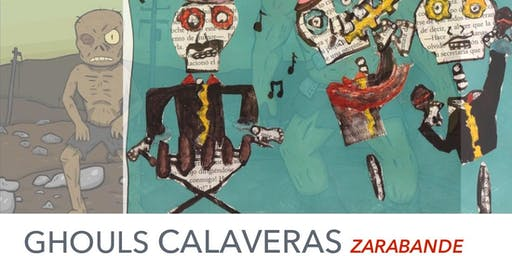Halloween Party Gouls & Calaveras feat. Latin fusion band Zarabande